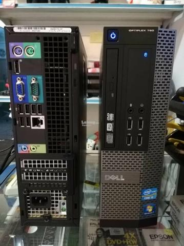 Cpu empresarial Slim Dell Optiplex 790 SFF i7 3 8Ghz 4gb 320HD