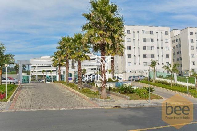 Apartamento com 2 dormitórios à venda, 50 m² por r$ 240.000 - pinheirinho - curitiba/pr - Foto 2