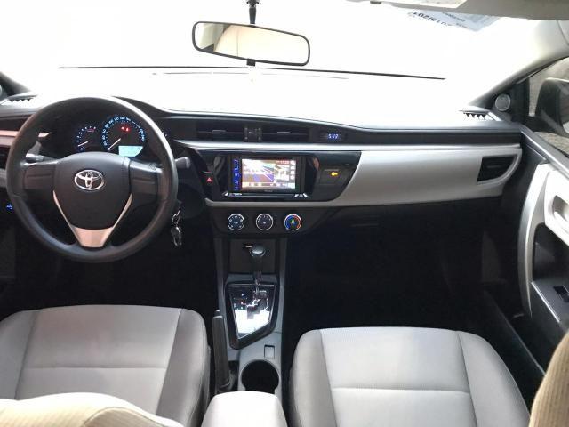 Toyota corolla gli 1.8 automático cvt flex 2015/2016 - jpcar - Foto 7