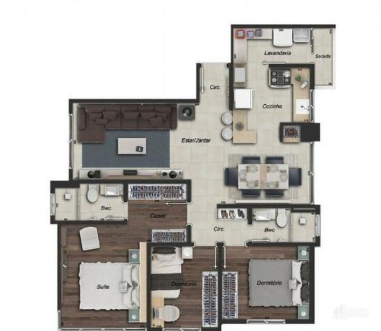 Apartamento à Venda em Ponta Grossa - Vila Estrela, 03 quartos - Foto 19