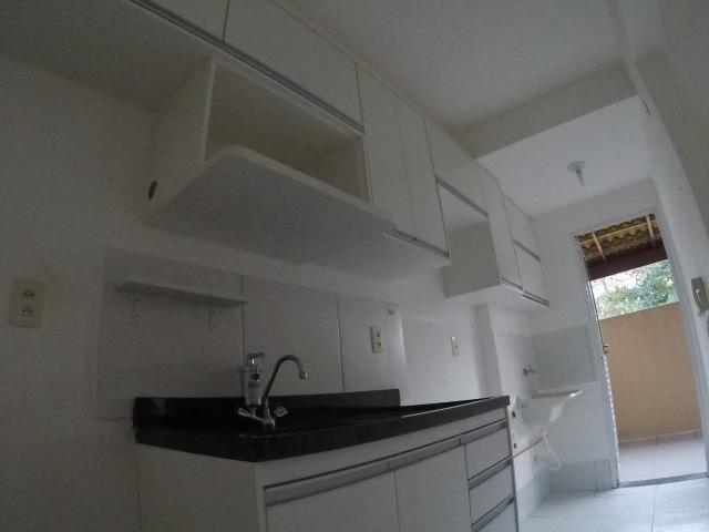 E.R-Apartamento com 2 quartos com quintal perto da praia de Manguinhos - Foto 9