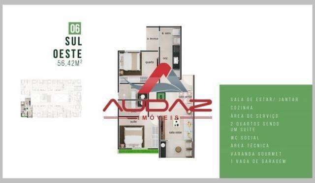 Apartamento à venda com 2 dormitórios em Bancários, João pessoa cod:1696 - Foto 17