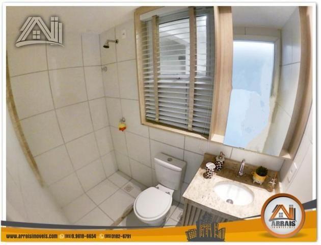 Apartamento com 2 Quartos mais Suite Master à venda no Bairro Benfica - AQUARELA CONDOMÍNI - Foto 10