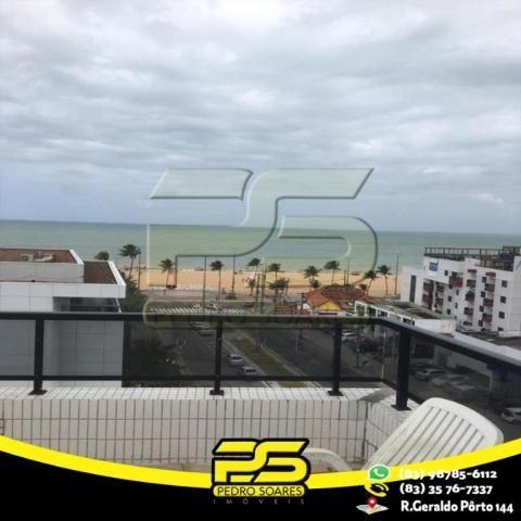 Flat com 1 dormitório para alugar, 1 m² por R$ 2.200,00/mês - Tambaú - João Pessoa/PB - Foto 15