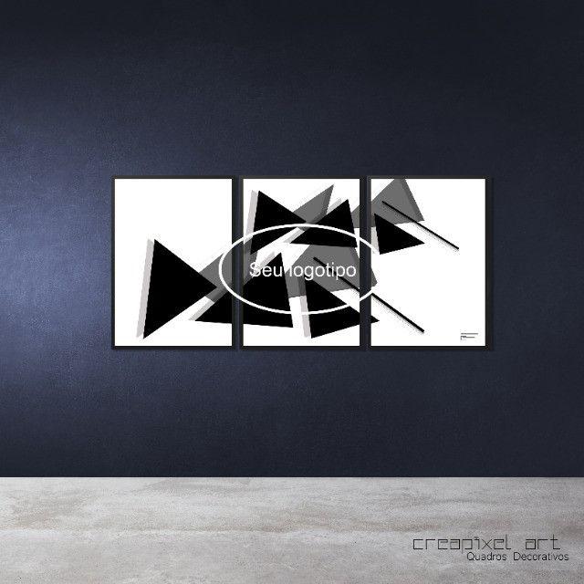Seu logotipo em quadro decorativo - Foto 3