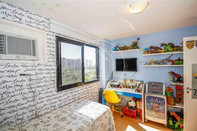 Apartamento à venda com 3 dormitórios em Barra da tijuca, Rio de janeiro cod:828684 - Foto 11