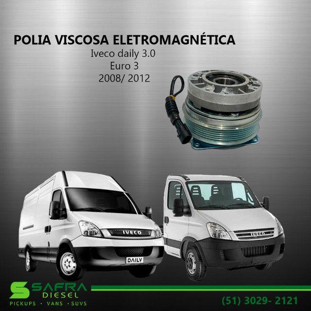 Polia Viscosa Eletromagnética Iveco daily