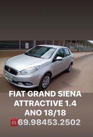 FIAT GRAND SIENA ATTRACTIVE 1.4 Ano 18/18 - Foto 7