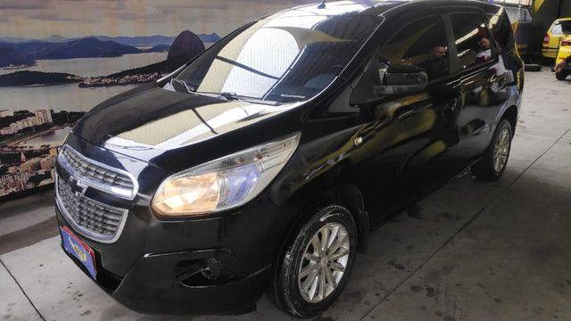 Spin lt 1.8 ex taxi, completa+gnv+ lindo + aprovação imediata, s/compr renda - Foto 2