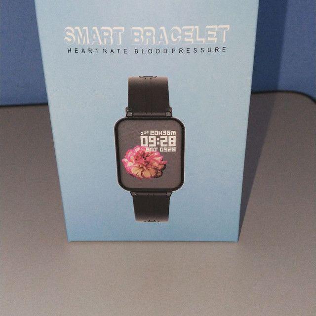 Relógio smartwatch b57 hero band - Foto 4