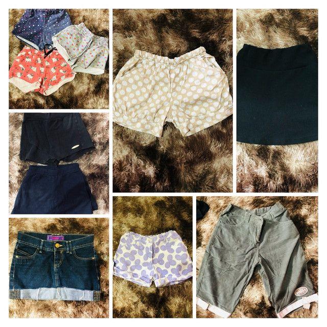 Lote de roupas tamanho 8/10/12 são 70 peças  - Foto 3