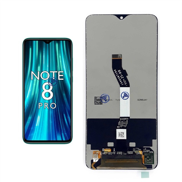 Tela Frontal Display Touch Compatível Redmi Note 8 Pro