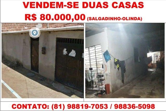 Vendem-se 2 casas em Salgadinho/Olinda-PE
