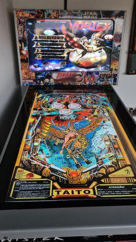 Fliperama Pinball Arcade - 240 jogos - Excelente estado  - Foto 4