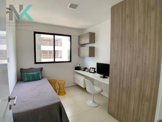 Apartamento com 3 dormitórios à venda, 114 m² por R$ 811.023,29 - Guaxuma - Maceió/AL - Foto 9