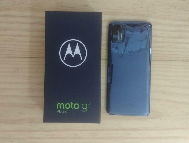 Moto G9 Plus, 128 gigas, 4 Ram, nota e garantia - Foto 2