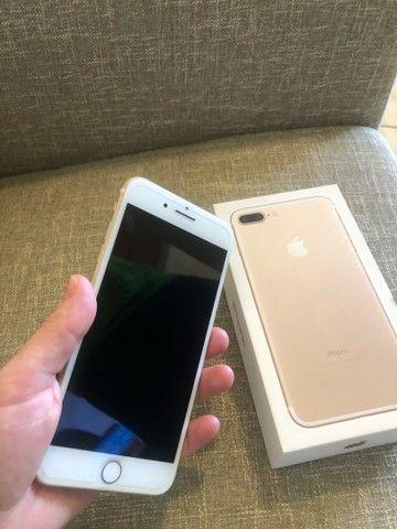 Vendo iPhone 7 Plus 32gb( somente venda) - Foto 2