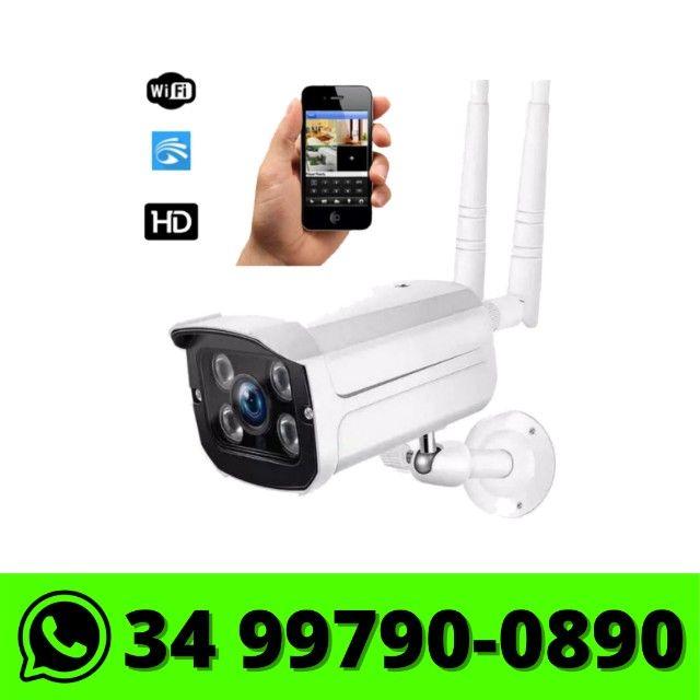 Câmera Wifi Ip Externa It-Blue - Monitorada via celular