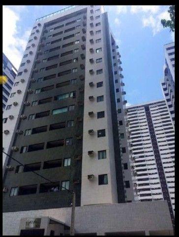 MD I Apartamento 2 Quartos 61m² com Varanda I Boa Viagem. Edf. Átria I Porteira Fechada