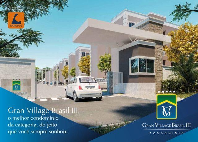 village brasil 3, apartamentos de 2 quartos.
