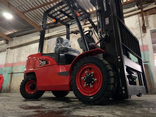 Empilhadeira Hangcha Diesel | 3,8 toneladas | Torre Triplex  - Foto 5