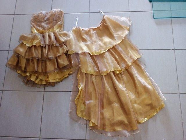 Vestido de festa dourado - Foto 3