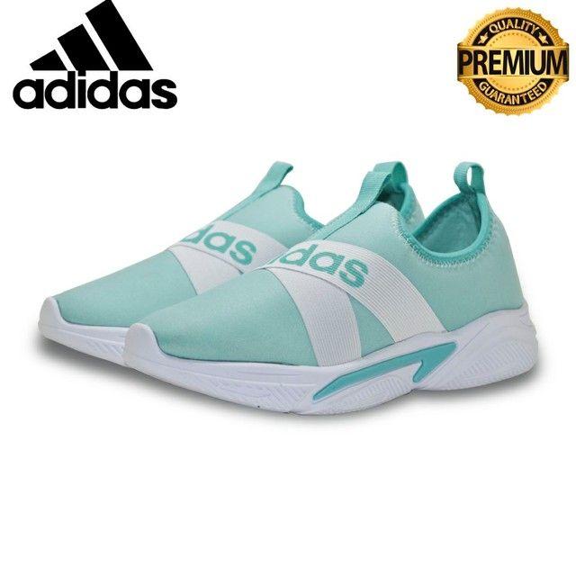 Tênis Adidas Slip  Unissex casual  Excelente Qualidade numeraçao do 34 ao 39  - Foto 2