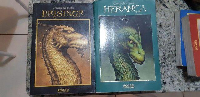 Coleção dos livros da Saga Eragon - Foto 3