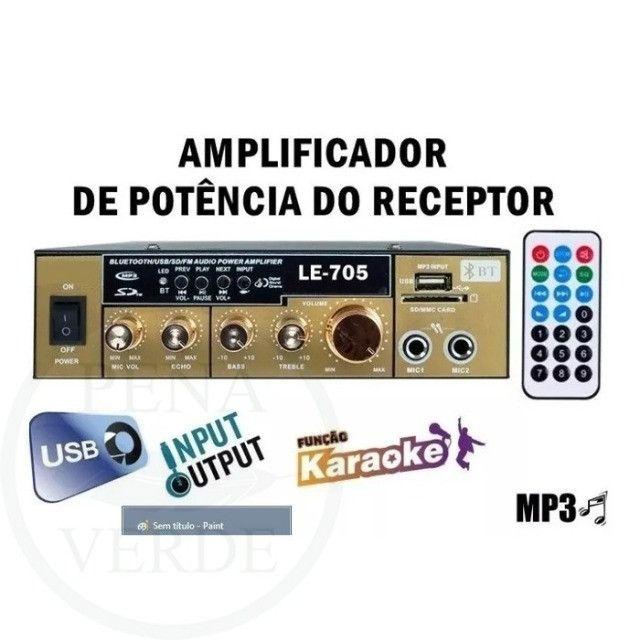 Mini Amplificador universal para uso em carros ou residências. - Foto 2