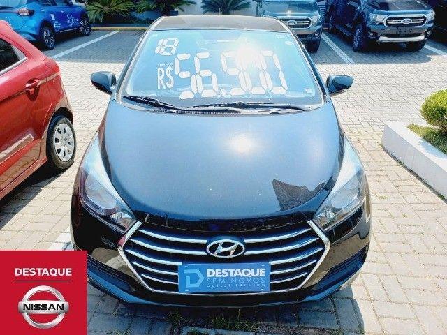 Hyundai HB20S 1.0 Manual 2018 Preto
