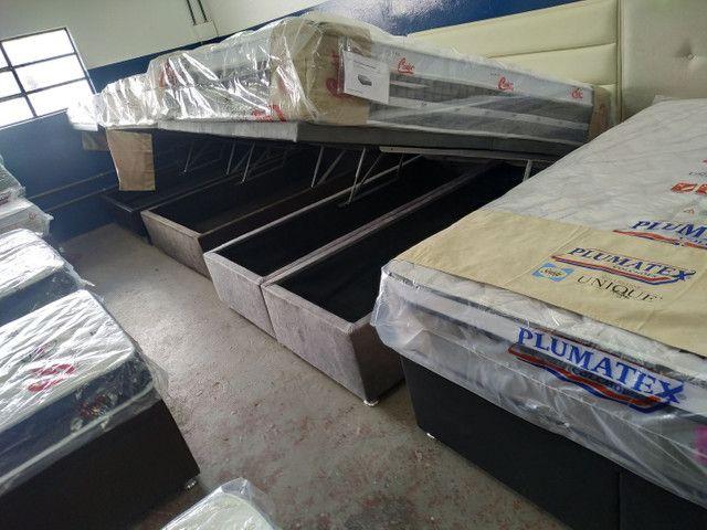 DISK-CAMAS- colchões- cama baú __ cama box baú e acessórios - Foto 5
