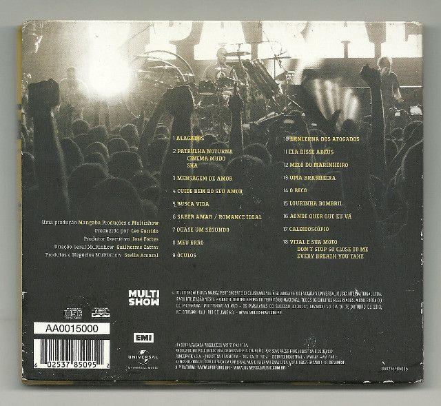 CD - Paralamas do Sucesso - 30 anos Ao vivo - Foto 2