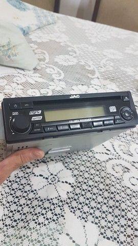 Radio Som Cd Player Mp3 Jac J3 2012 2013 Original - Foto 2