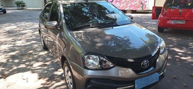 Étios Sedan automático 1.5 / 2020 GNV geração 5