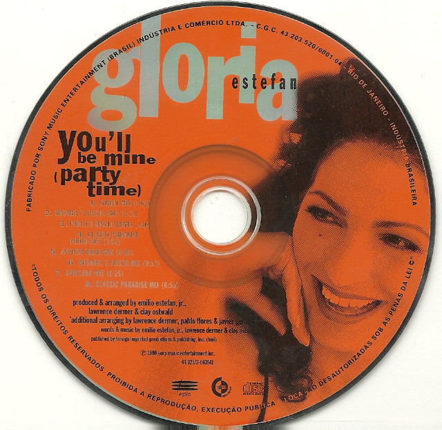 CD - Gloria Estefan -  You'll be mine (party time) - Foto 3