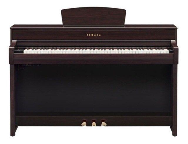Piano Digital Yamaha Clavinova Clp 735r - Rosewood (Mixer Instrumentos Musicais) - Foto 2