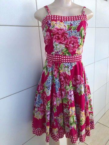 Vestido Junino Tamanho M - Foto 3