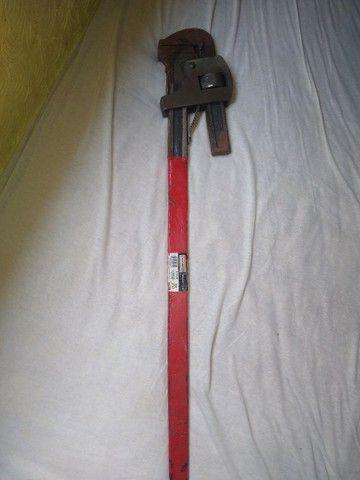 Chave de grifo 36'' 80cm semi nova