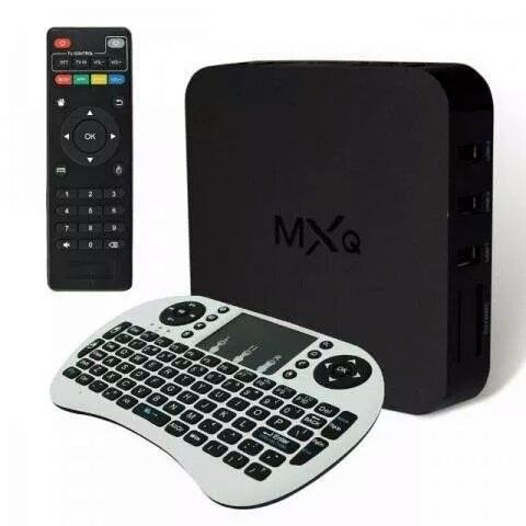how to connect mxq box to pc