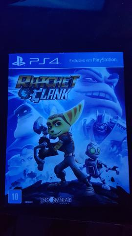 Vendo ratchet clank para ps4, negociável