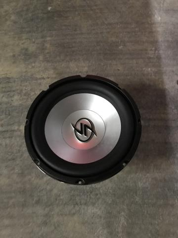 Subwoofer lighting audio