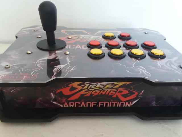 Controle Arcade Usb Ps3 Ps4 PC Raspberry - Placa Zero Delay - Foto 5