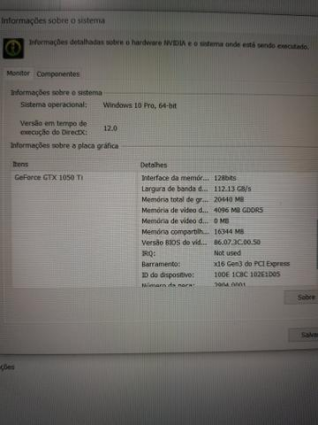 Avell I 7, 32GB e GTX 1050TI aceito trocas - Foto 4