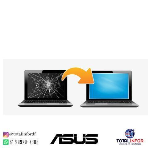 Asus - conserto notebook asus em Brasília