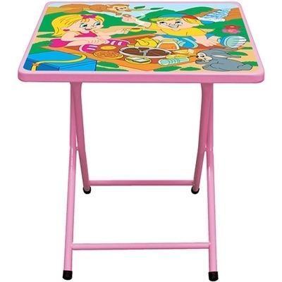 Mesa infantil dobrável com 2 cadeiras *nova na caixa - Foto 3
