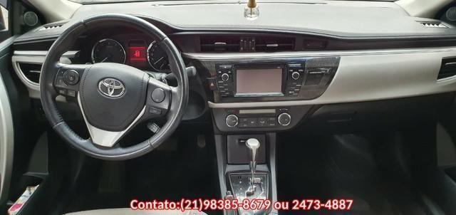 Toyota Corolla XEI Automático 2016 Flex/Gnv - Foto 2