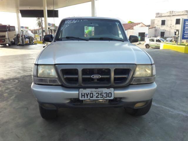 Ford Ranger XLs 2.8 4x4 ano 2004 tróco - Foto 10