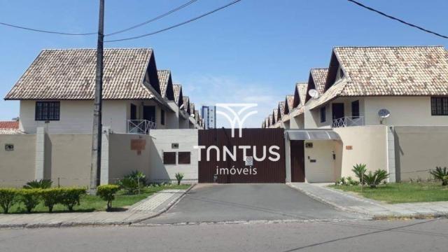 Sobrado com 3 dormitórios à venda, 115 m² por r$ 615.000 - santa cândida - curitiba/pr