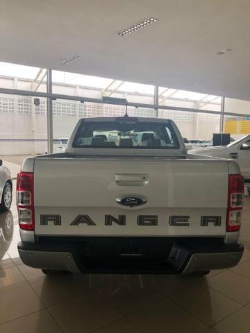 Ford Ranger XLS Cab. Dupla 2.2 Diesel 4x4 Automático 2019/ 2020 - Foto 4