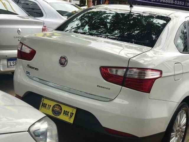 Fiat Grand Siena 2017 + GNV (Único Dono, novo)